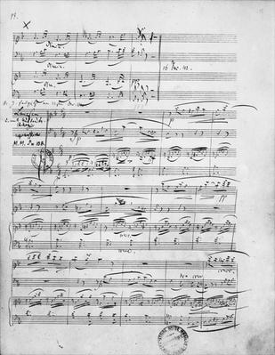 Ms.312, Phantasiestucke, Opus 88, for piano, violin and cello, 1842