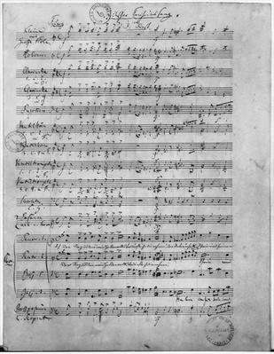 Ms.316, Three Lieder, Opus 65, Number 3, for male choir, 1847