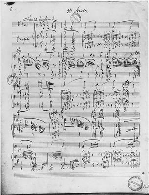 Third Sonata for piano and violin