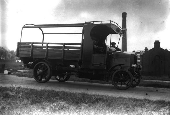 Early Lorry | Industrial Revolution