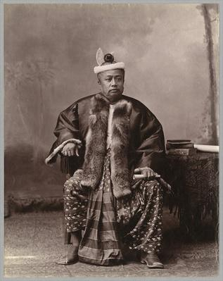 Burmese magistrate, late 19th century