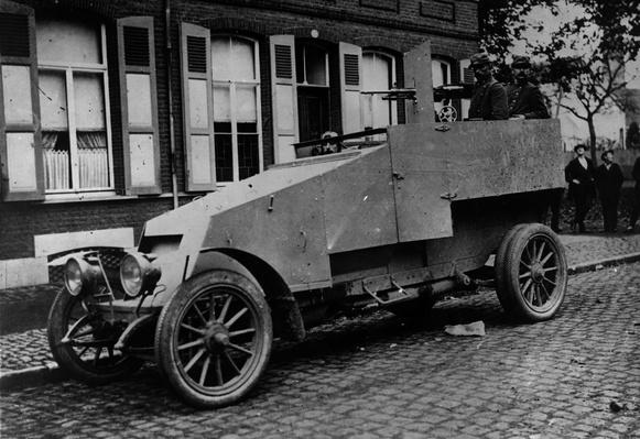 Armoured Car | Evolution of the Automobile