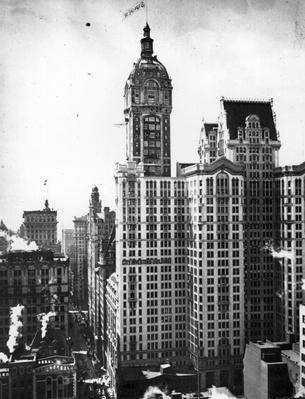 Singer Building | Famous American Architecture