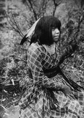 Native American Girl (September 1913) | Native American Civilizations | U.S. History