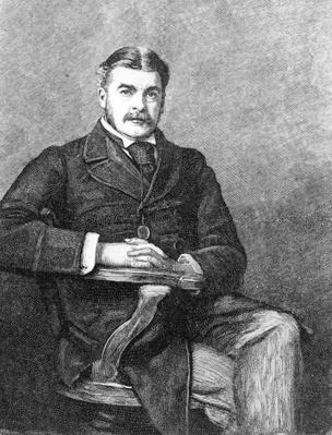 Sir Arthur Sullivan, engraved by C. Carter