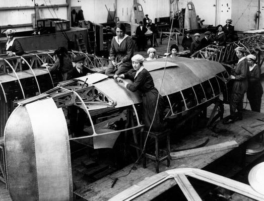 Zeppelin Production | Industrial Revolution