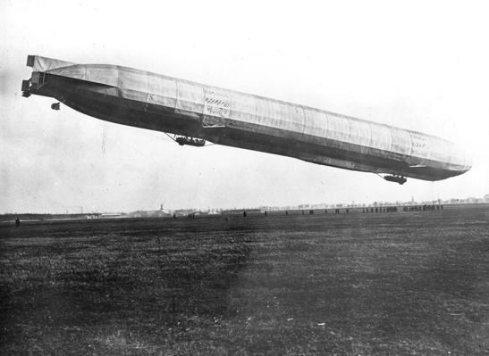 Zeppelin Ascending | The Evolution of Military Aviation