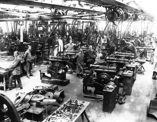 Vickers Works | Industrial Revolution