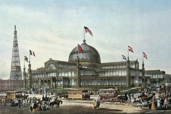 New York Crystal Palace, built for World Fair in 1853