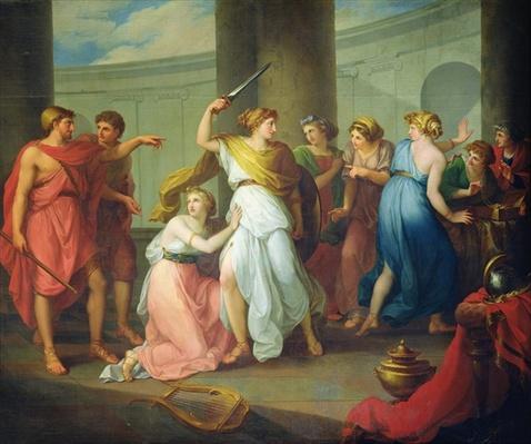 Achilles recognised, 1799