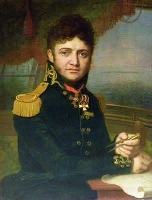 Portrait of Yuri F. Lisyansky, 1810