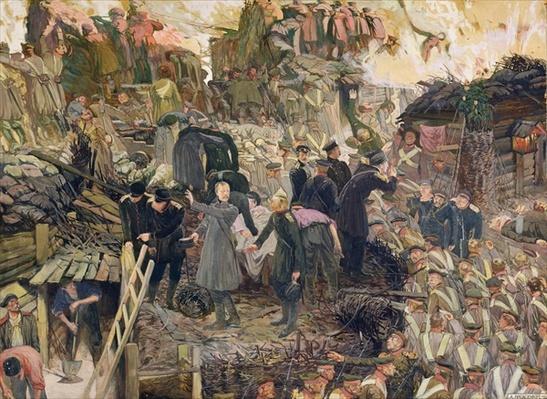 The Defense of Sebastopol, 1910