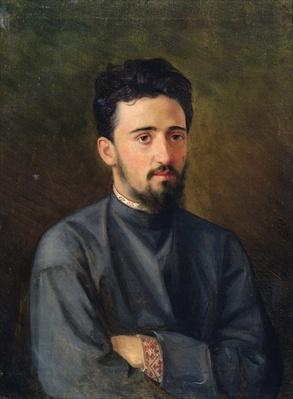 Portrait of Vsevolod M. Garshin, 1878