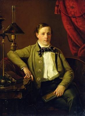 Portrait of Apollon Maykov, 1840
