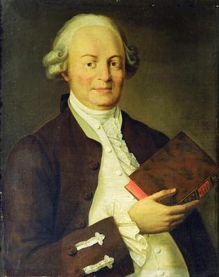 Portrait of Vasili K. Trediakovsky
