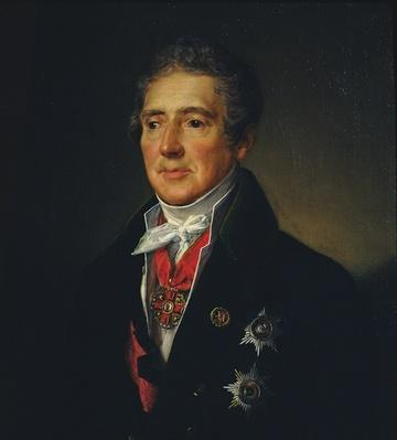 Portrait of Ivan Dmitriev, 1835