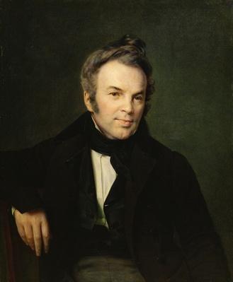 Portrait of Ivan Lazhechnikov, 1834