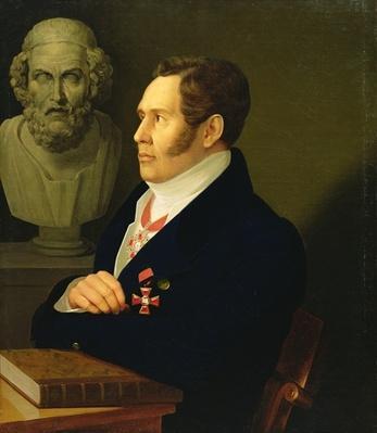 Portrait of Nikolay Gnedich, 1839