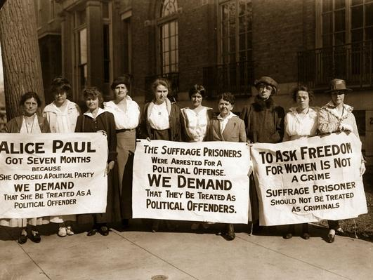 Suffragettes | Women's Suffrage | U.S. History