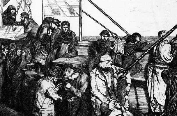 Poor Emigrants | U.S. Immigration | 1840's to present | U.S. History