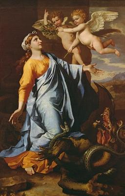 Saint Margaret, c.1636-37