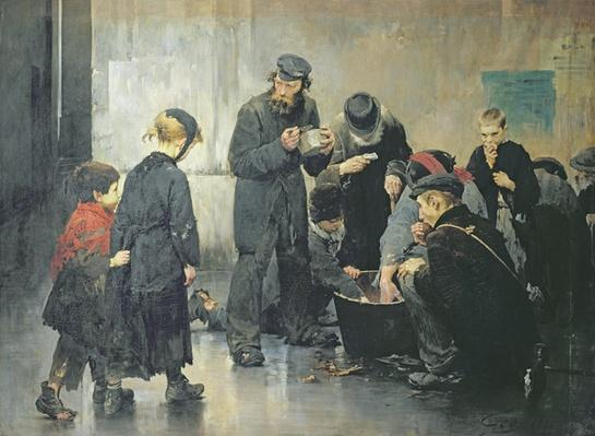 The Starving, 1886