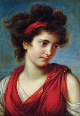 Portrait of Maguerite Porporati, 1792