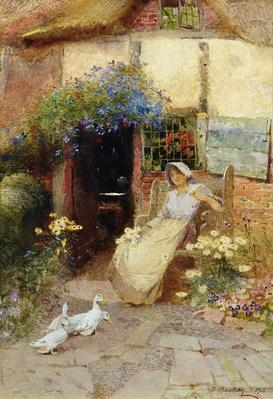 At the Cottage Door, 1913