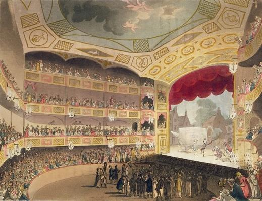 "Royal Circus from Ackermann's ""Microcosm of London"""