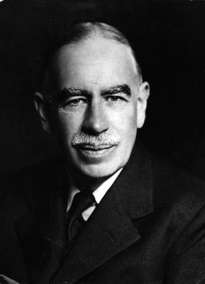 Portrait Of Keynes | The Study of Economics