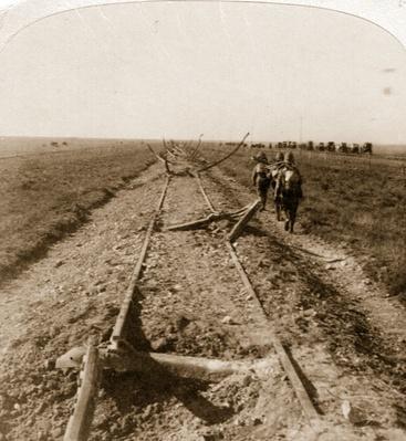 Boer War Damage | Evolution of the Railroad (Engine)