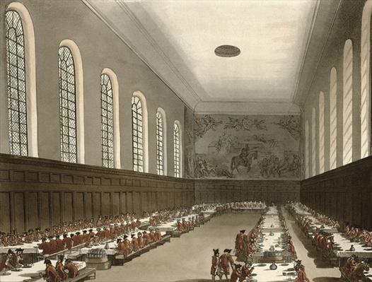 Military Hospital, Chelsea, from Ackermann's 'Microcosm of London'