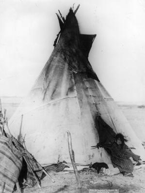 Squaw At Home | Native American Civilizations | U.S. History
