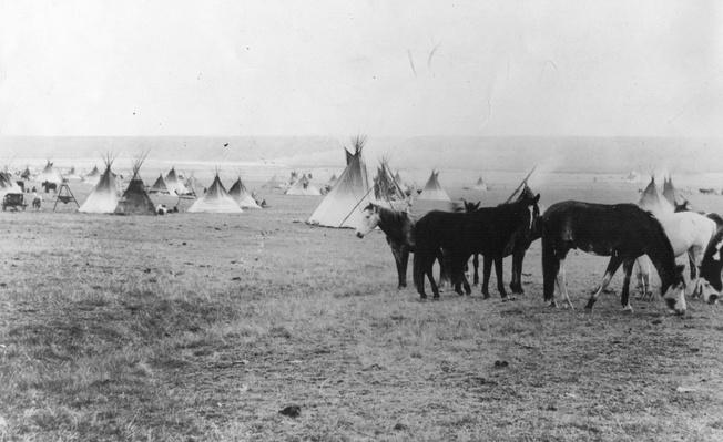 Blackfoot Camp | Native American Civilizations | U.S. History