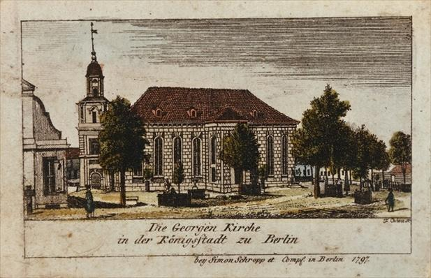 The Church of St. George in Konigsstadt, Berlin, 1797