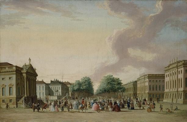 Unter den Linden, Berlin, 1770