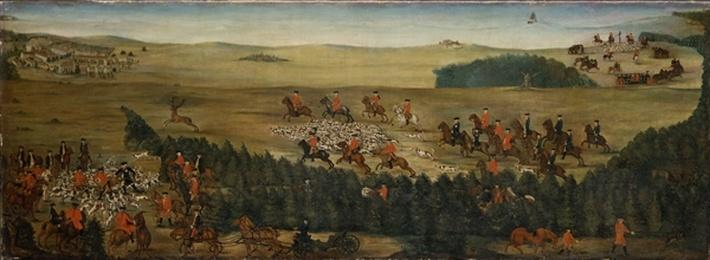 Stag-hunting with Frederick William I of Prussia