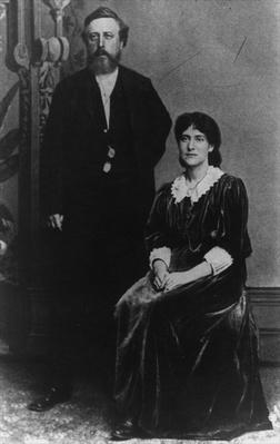 Wilhelm Liebknecht and Eleanor Aveling in America, 1887
