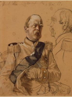 Prince Otto von Bismarck, 1865