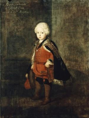 Prince Augustus William aged four, 1734