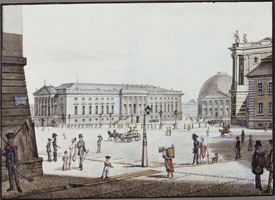 The Opernplatz, Berlin