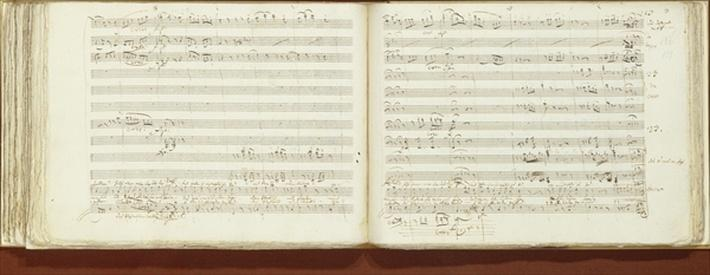 Autograph copy of 'The Magic Flute'