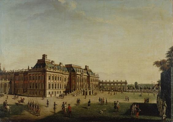 The garden front of the town castle, 1773