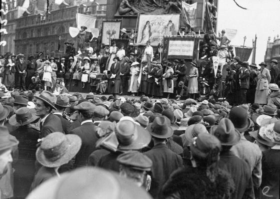 Women's Suffrage   Women's Suffrage   U.S. History