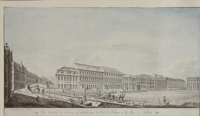 West aspect of Wilhelmsplatz, c.1773