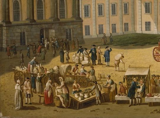 Market in the Alter Markt, Potsdam, 1772