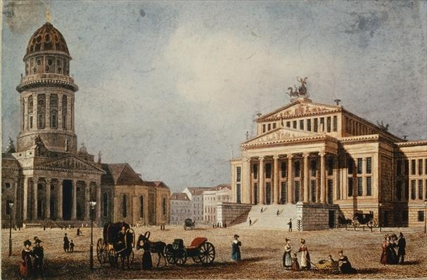 The Royal Theatre and the New Church, 1833