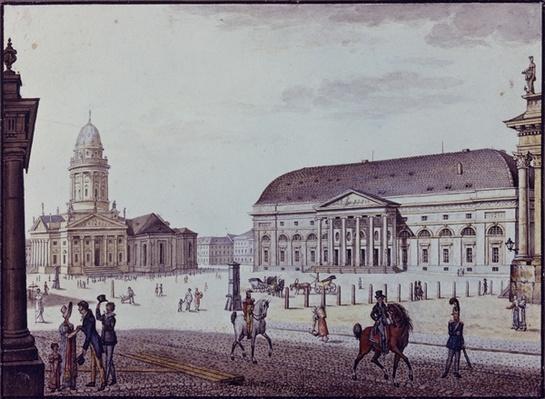 The Gerndarmenmarkt