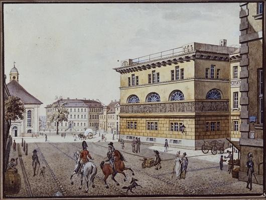 View of the mint, Berlin