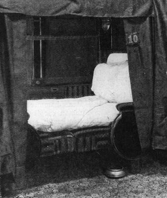 Pullman Bed | Evolution of the Railroad (Engine)